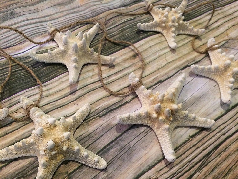 5ft Knobby Starfish Beach Wedding Garland