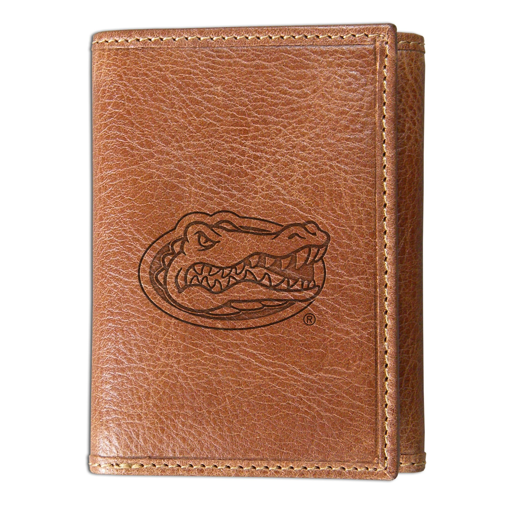 University of Florida Westbridge Leather Wallet (Trifold)