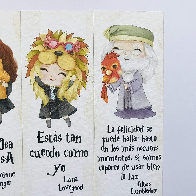 Marcapáginas de Harry Potter, recordatorios de comunión ...