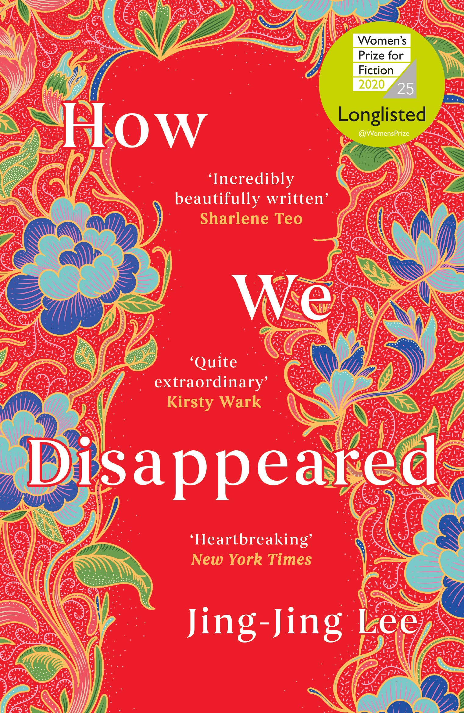 How We Disappeared - LONGLISTED FOR THE WOMEN'S PRIZE FOR FICTION ...