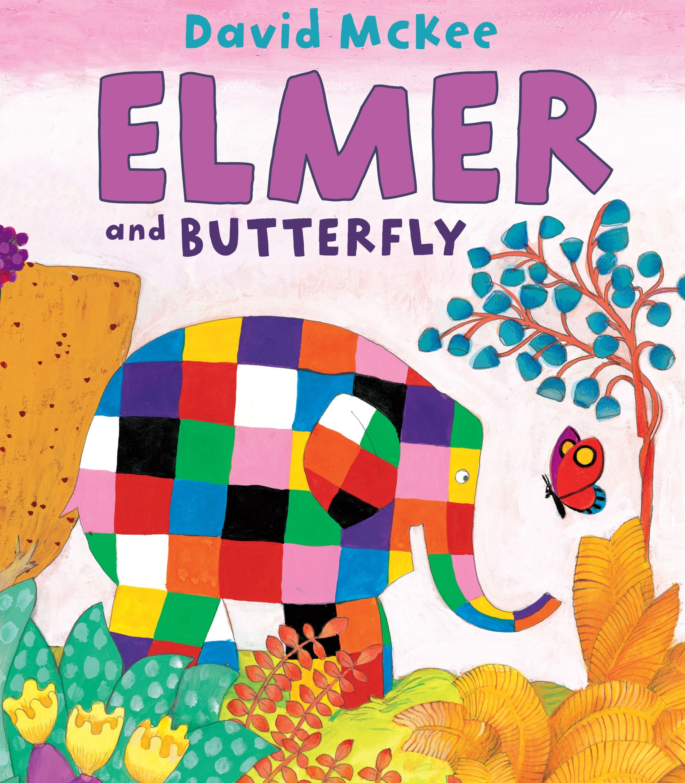 Elmer and Butterfly (Elmer Books) by Andersen Press USA (Image #1)