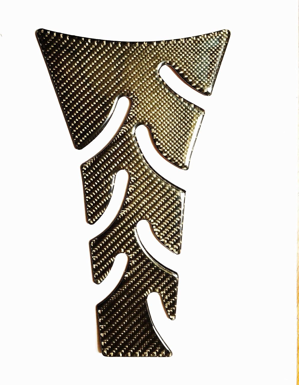 Tankpad moto autocollant Pro Grip Protection de r/éservoir de carbone R/éservoir de