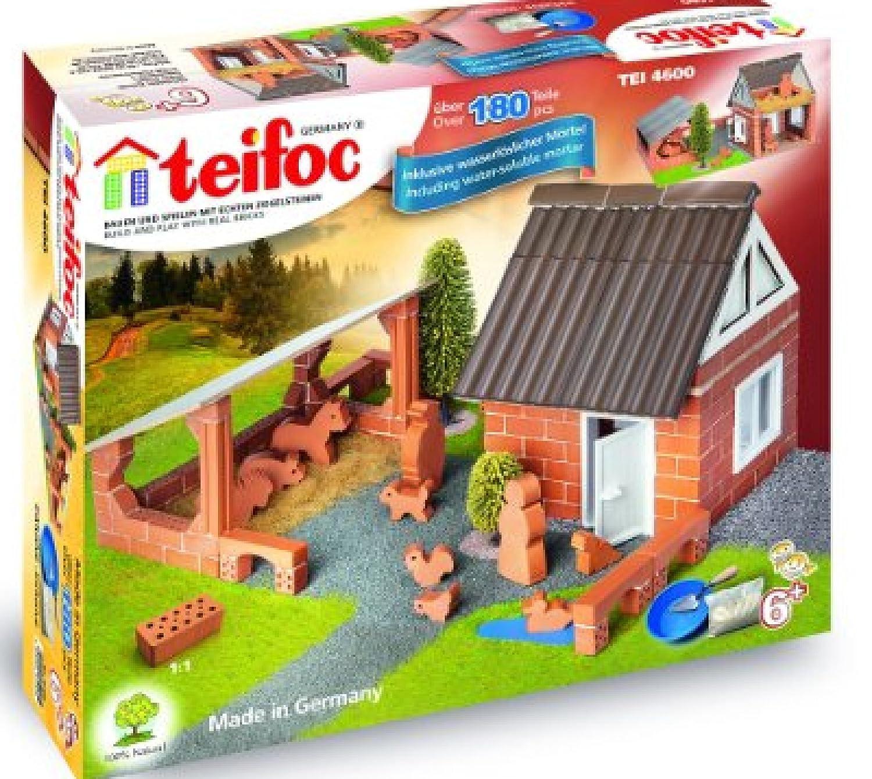 Teifoc TEI TEI 4600 Brick Construction Kit Farm House Farm [並行輸入品] Kit B01JGZ1A0I, ヘイワチョウ:90aa081f --- harrow-unison.org.uk
