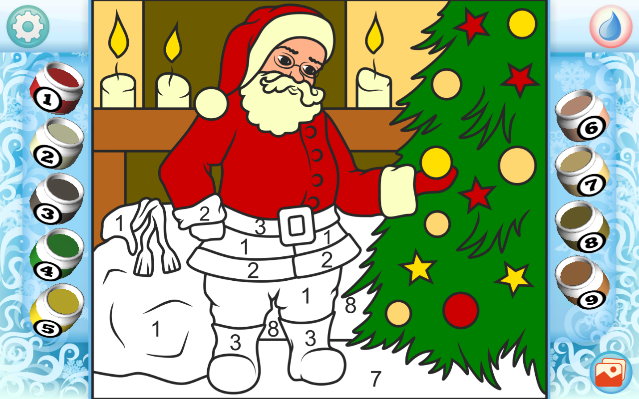 Amazon.com: Color by Numbers - Christmas: Appstore for Android