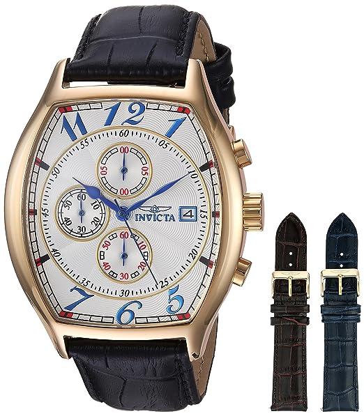 Invicta 14330 Specialty Reloj para Hombre acero inoxidable Cuarzo Esfera blanco: Invicta: Amazon.es: Relojes