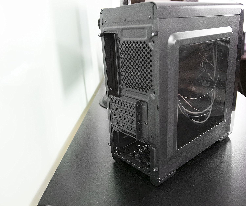 Vivo Smart Micro Atx Tower Computer Gaming Pc Case Segotep Ramadan 5 Black Fan Mounts Usb 30 Port V06 Computers Accessories