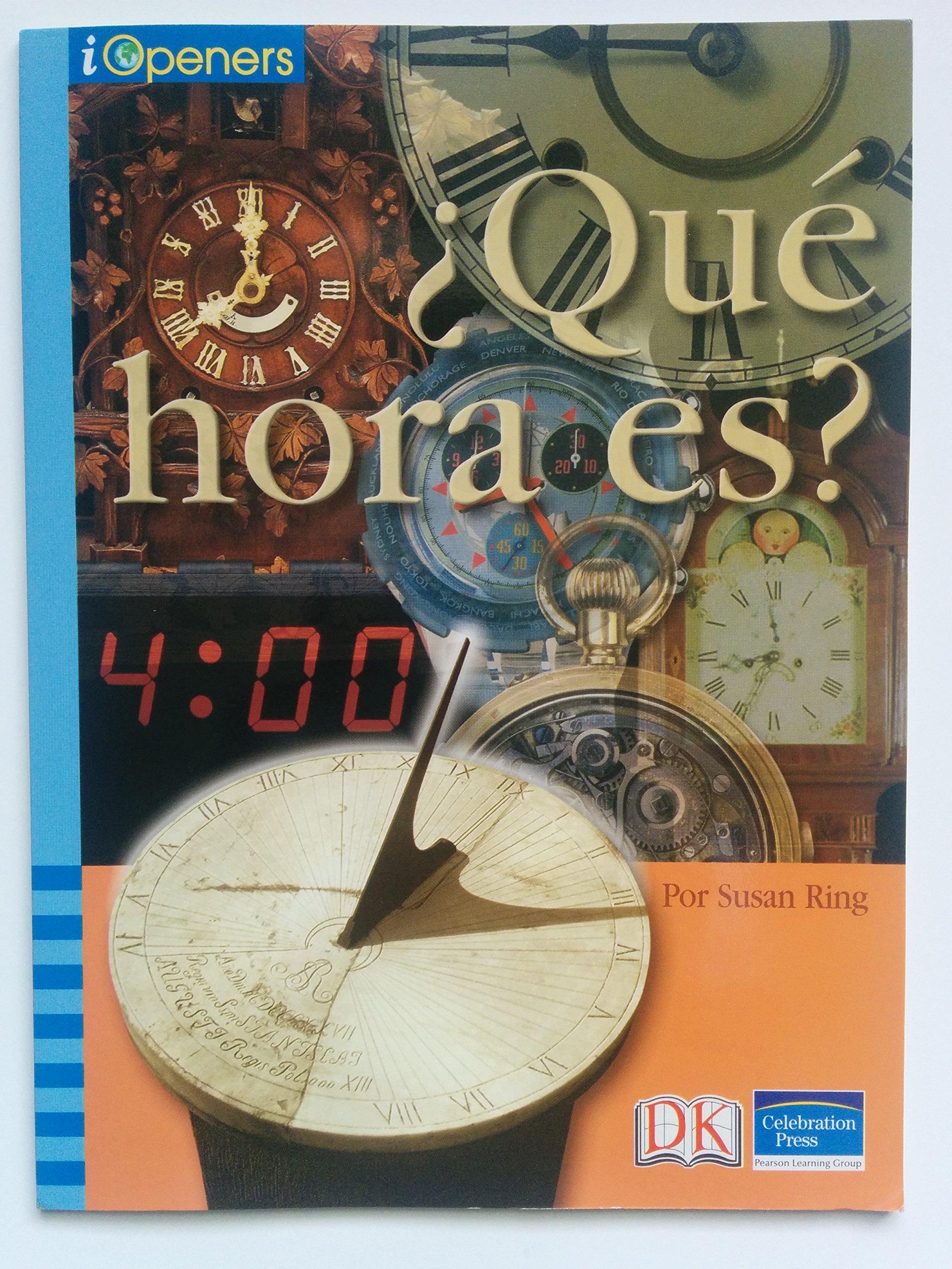 Download SPANISH IOPENERS QUE HORA ES? GRADE 5 2006C (Iopeners - Spanish) pdf epub
