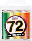 Colored Pencil Set with Case, 7-Inch, Pack of 72