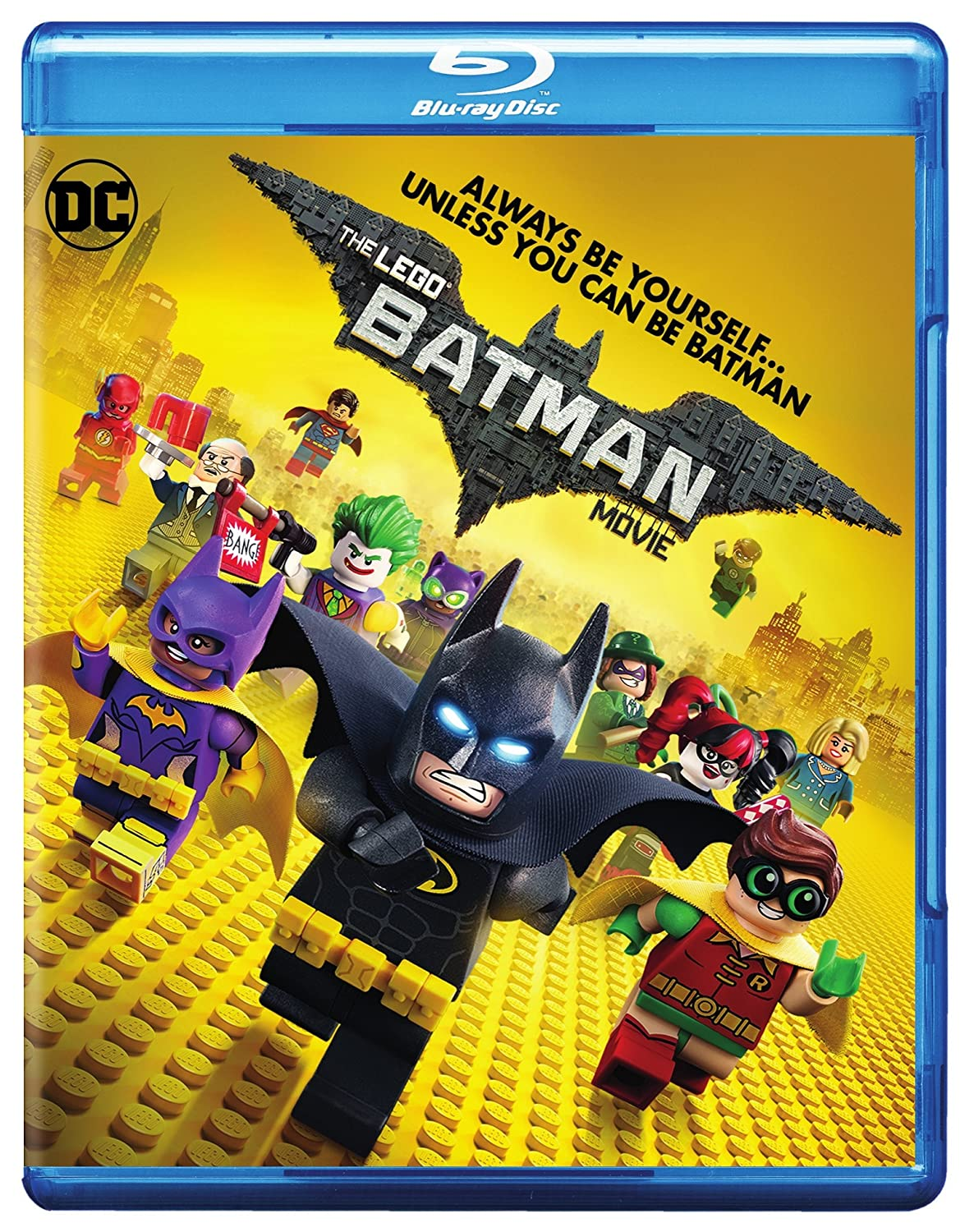 Amazon Com Lego Batman Movie The Blu Ray Bd Will Arnett Zach Galifianakis Michael Cera Rosario Dawson Ralph Fiennes Chris Mckay Matthew Ashton Dan Lin Jill Wilfert Will Allegra Phil Lord Christopher Miller John