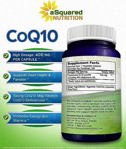 coenzyme ku 10 cu varicoză