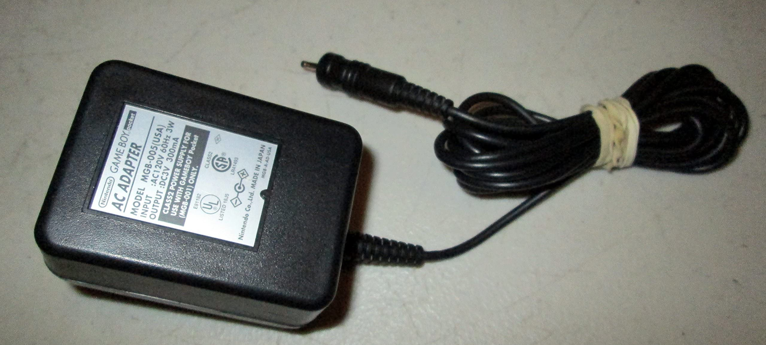 Amazon com: Nintendo Game Boy Color and Pocket AC Adapter