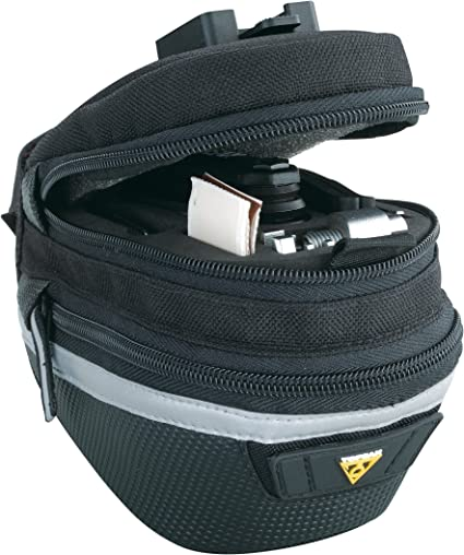 NEW Topeak Wedge Pack II Small Bicycle//Bike Seat Bag w// QuickClick Fixer 2