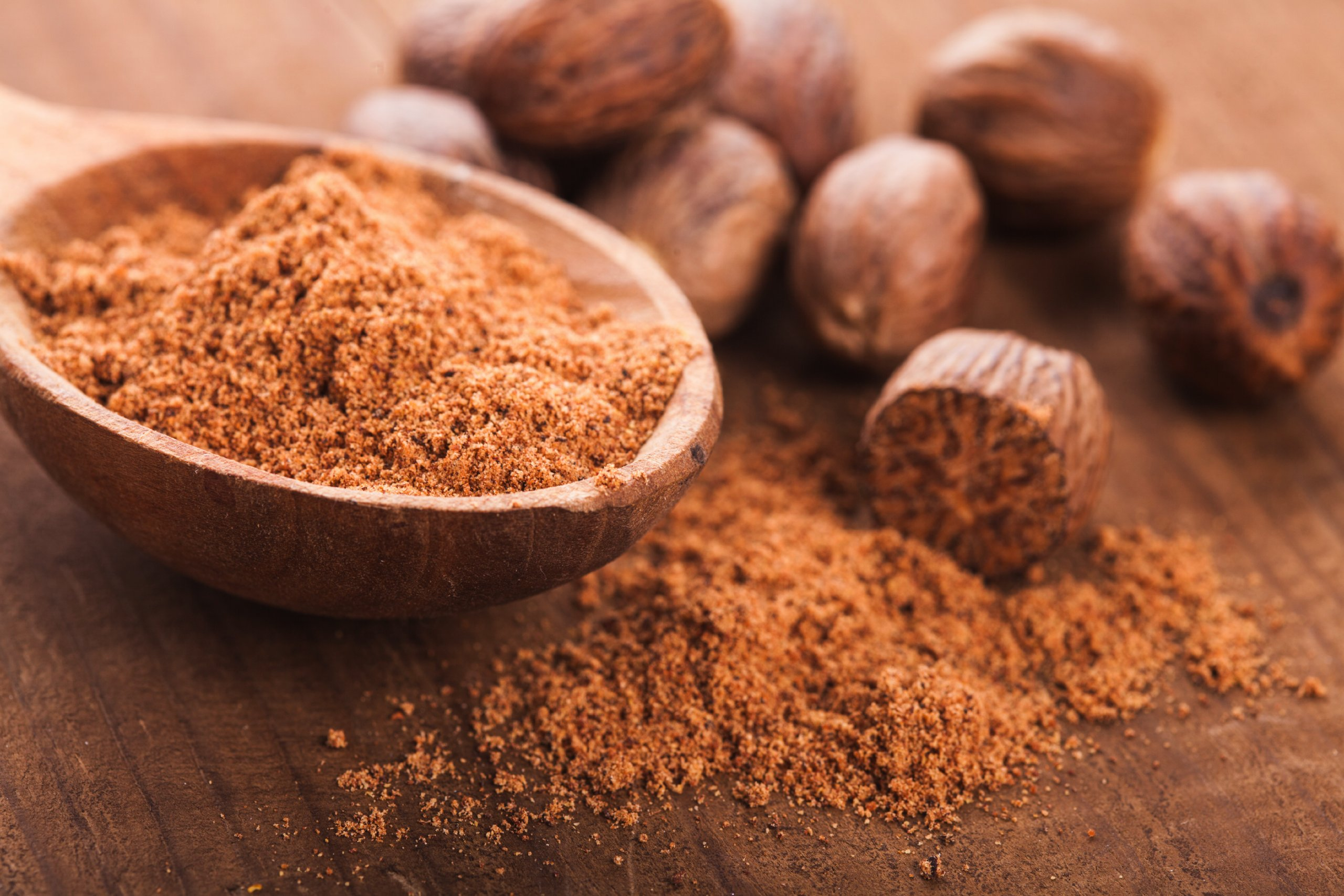 Bakto Flavors Gourmet Ground Nutmeg - 1 lb