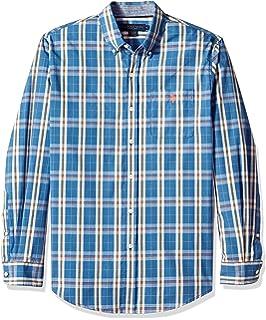 Amazon.com: U.S. Polo Assn. – Chaqueta de Tartán Camisa ...