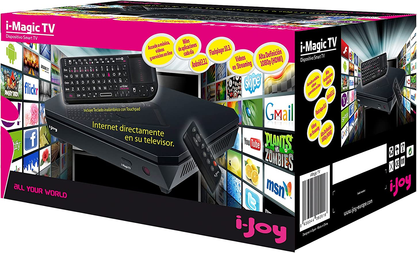 IJOY Smart Tv Imagic: Amazon.es: Electrónica