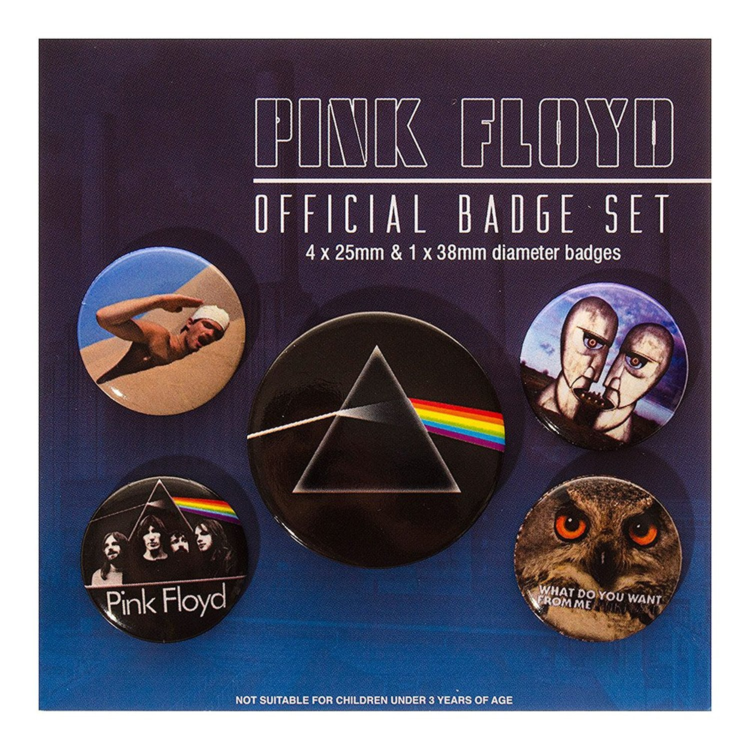 Pink Floyd Pack De Badges / Pins - TU