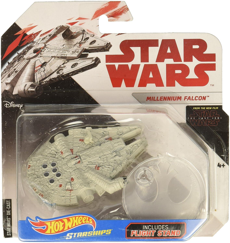 Hot Wheels Star Wars The Last Jedi Millennium Falcon Die Cast Vehicle