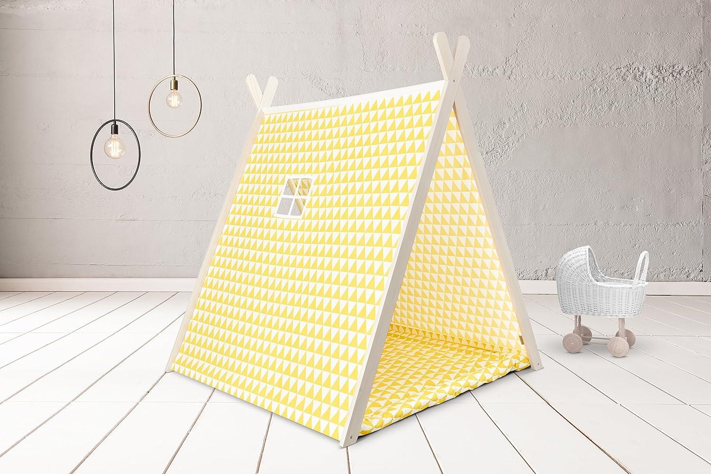 KraftKids Spielzelt gelbe Dreiecke