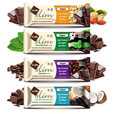 Nugo Nutrition Slim Protein Bars Vegan And Gluten Free 45g Pack Of 4 Sample