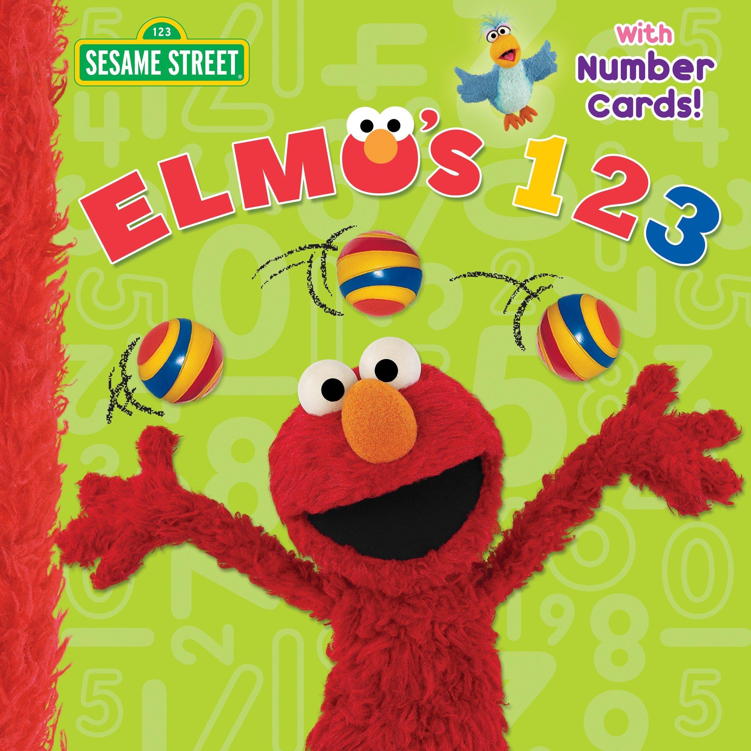 Elmo's 123 (Sesame Street) (Pictureback(R)) pdf epub