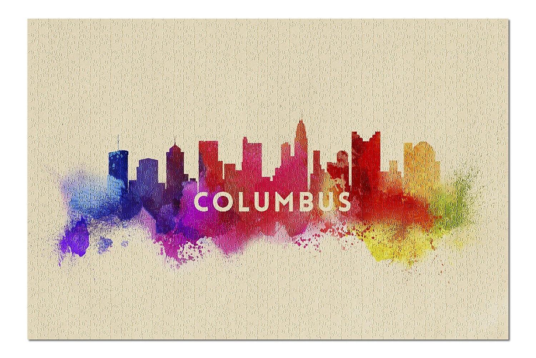 【海外 正規品】 Columbus , Ohio – x Skyline抽象( 20 B076PSZN1R x 30プレミアム1000ピースジグソーパズル ,、アメリカ製。 ) B076PSZN1R, CLIFFSIDE:60dcefb1 --- a0267596.xsph.ru