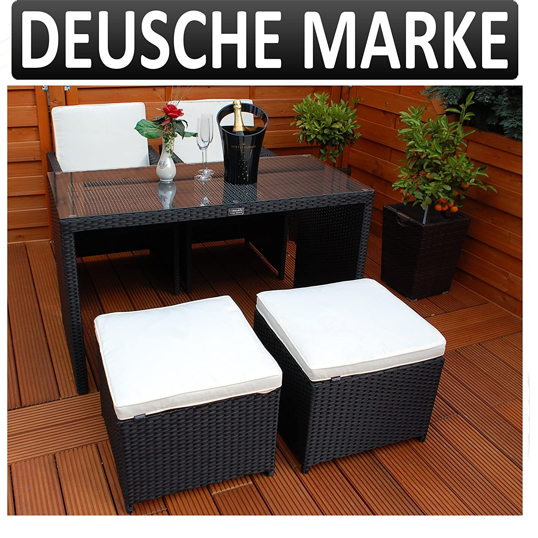 gartenm bel polyrattan deutsche marke eignene. Black Bedroom Furniture Sets. Home Design Ideas
