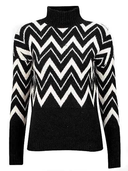 unschlagbarer Preis suche nach neuesten ausgewähltes Material TopsandDresses Damen Pullover Schwarz off-white and black ...