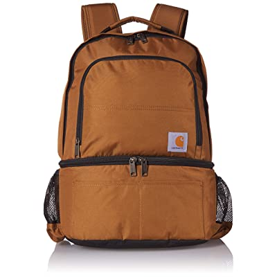 Carhartt 2-in-1 Insulated Cooler Backpack, Brown: Home Improvement