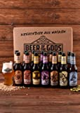 Wacken Brauerei Göttergabe Craft Beer Paket - 14 x Beer of the Gods 0,33l inkl. Craftbeer Glas - Craft beer Set - Geschenkset Bier