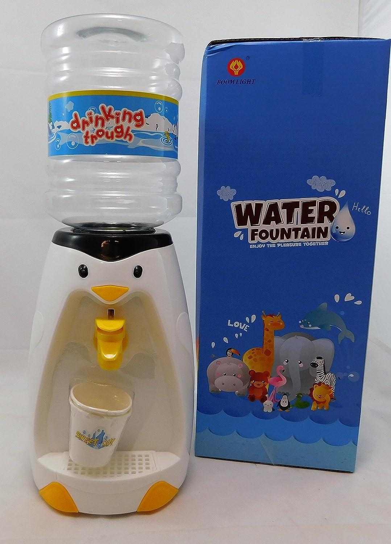 Mini dispensador de agua con forma de pingüino, para 8 vasos de agua: Amazon.es: Juguetes y juegos