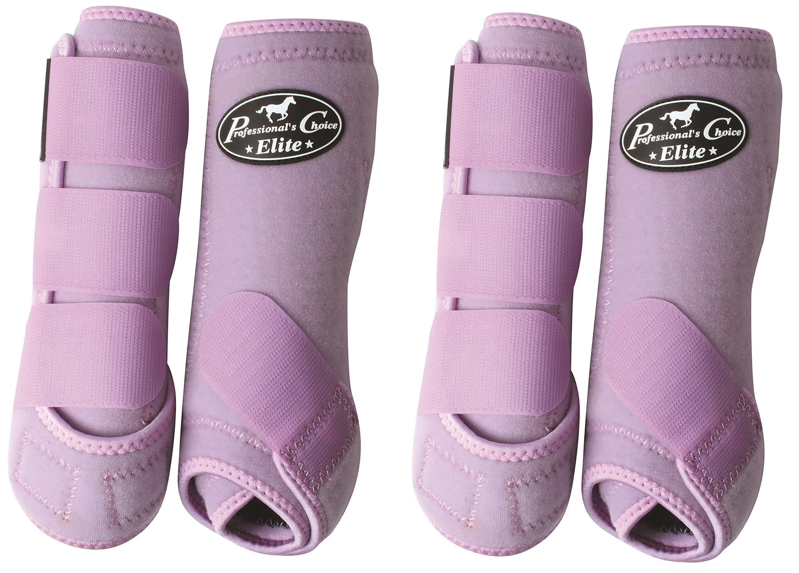 Professional's Choice Ventech Elite Horse Equine SMB Medicine Boots Lilac Purple (Small) by Professional's Choice