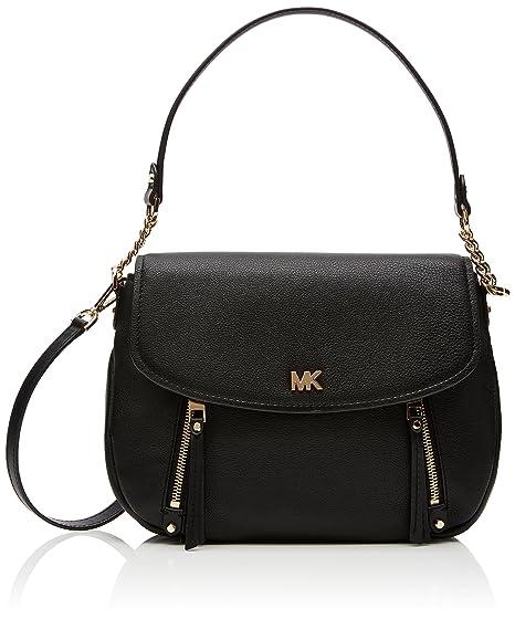 ad8ed5983da6b2 Michael Kors Womens Evie Shoulder Bag Black (Black): Amazon.co.uk ...