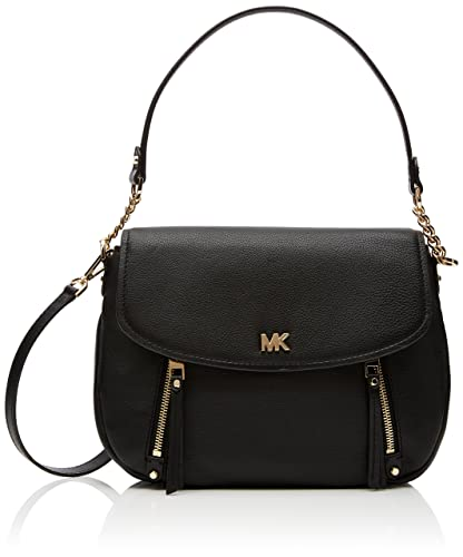 599f77010c9 Michael Kors Womens Evie Shoulder Bag Black (Black): Handbags ...