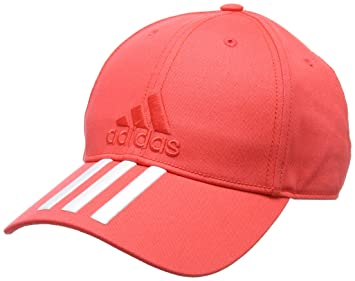 Adidas CF6916 Six-Panel Classic 3-Stripes Cap - Real Coral White ... aa24843a73b