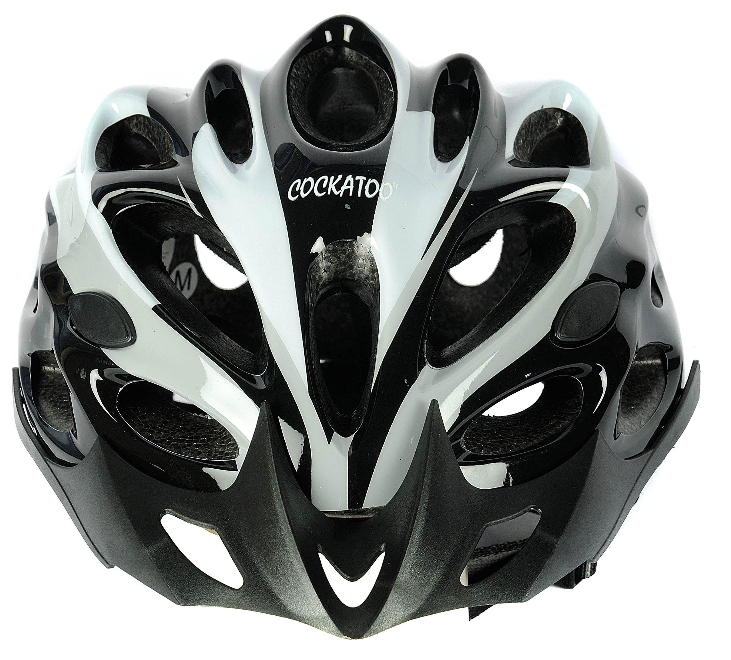 Cockatoo CPH Polypropylene Cycling Helmet, Small (White/Black) (B0721G2XC6) Amazon Price History, Amazon Price Tracker
