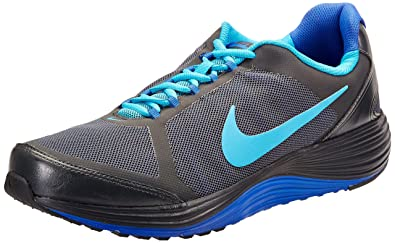 Nike Men's Revolve 2 Anthracite, Blue Lagoon and Game Royal Running Shoes  -10 UK