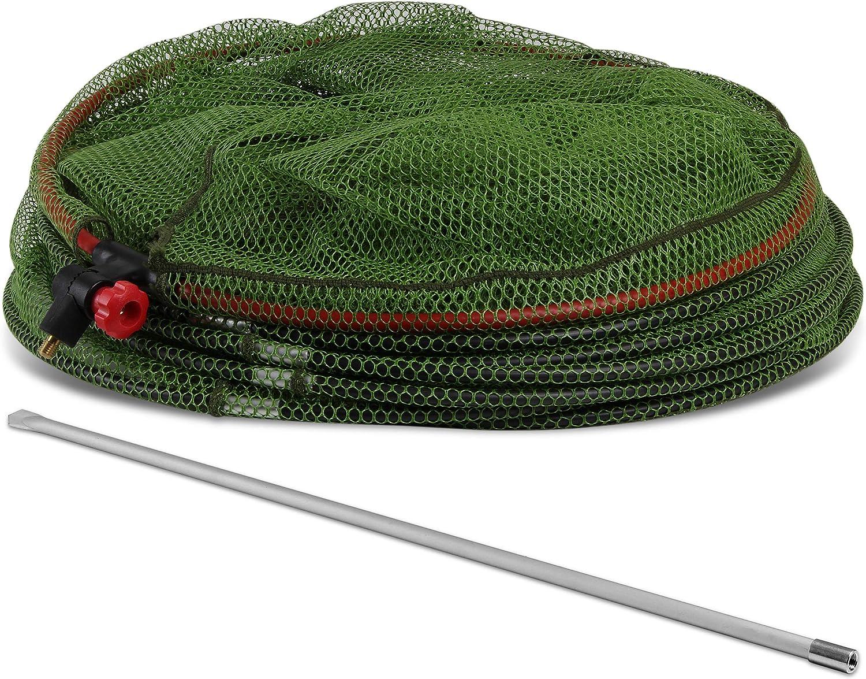 /Ø 50 cm Storfisk fishing /& more Profi Setzkescher mit Erdspie/ß 75 cm Netz fischschonend gummiert