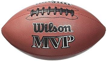 WILSON MVP Official Balón de fútbol Americano 279d8279768