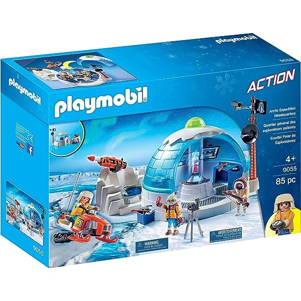 Playmobil Arctic Polar Iceberg Drilling Platform Ice Explorer Scientist NEW