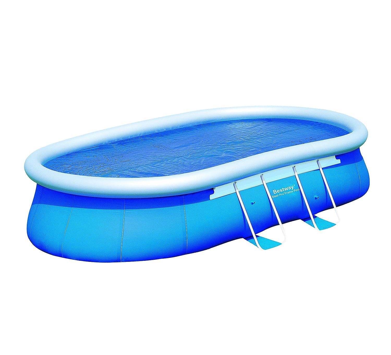 Bestway 58401e Solar Cover, Blue, 410x 260x 1cm