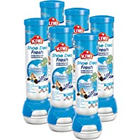KIWI Fresh Force - Deodorante per scarpe, profumazione fresca, 6 x 100 ml