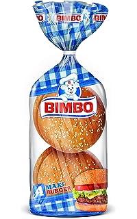 Bimbo - Maxi Burguer, Hamburguesa, (4 unidades) 300 g