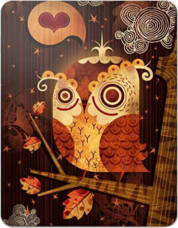 Amazon Com Gelaskins Protective Skin For The Apple Ipad The Enamored Owl With Access To Matching Digital Wallpaper Downloads Electronics
