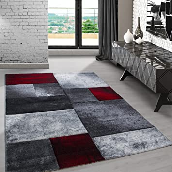 Teppiche Modern Designer Für Wohnzimmer, Esszimmer, Gästezimmer,  Schlafzimmer,kurzflor Meliert Kariert Sand