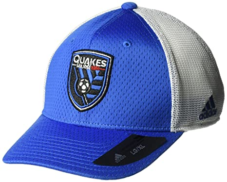 the best attitude 6a166 62627 ... where to buy adidas mls san jose earthquakes mens meshback structured flex  hat large x large