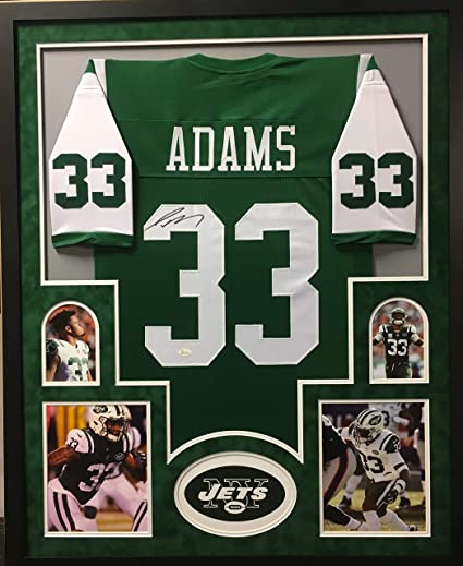 finest selection 9f7a1 30833 Jamal Adams New York Jets Autograph Signed Custom Framed ...