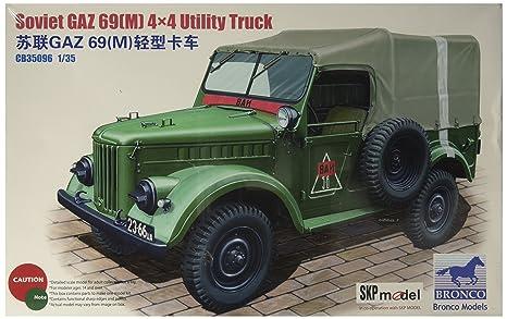 Unbekannt Bronco Models cb35096 - Maqueta de GAZ 69, M 4 x 4 ...