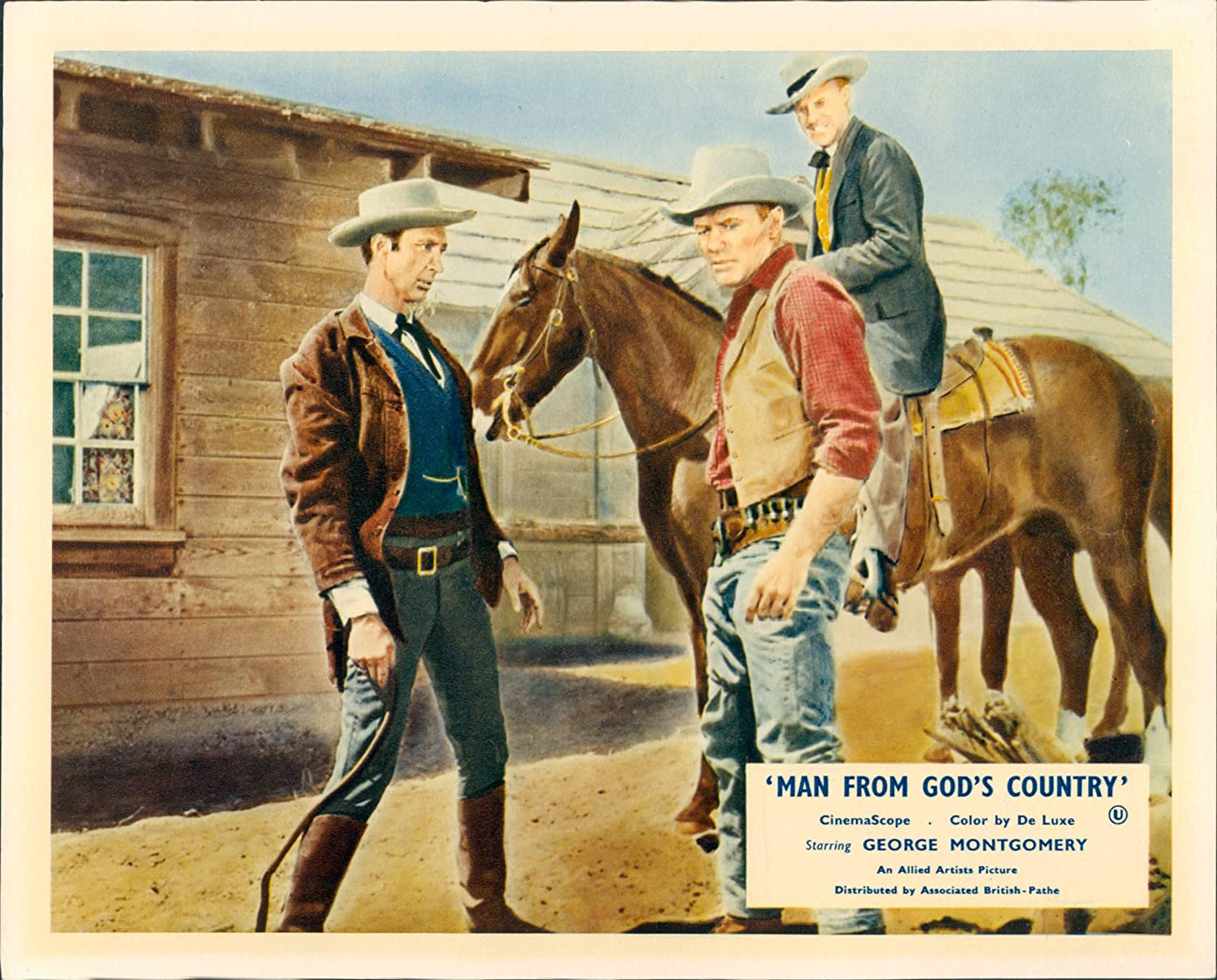 Amazon MAN FROM GODS COUNTRY GREGG BARTON LOBBY CARD Entertainment Collectibles