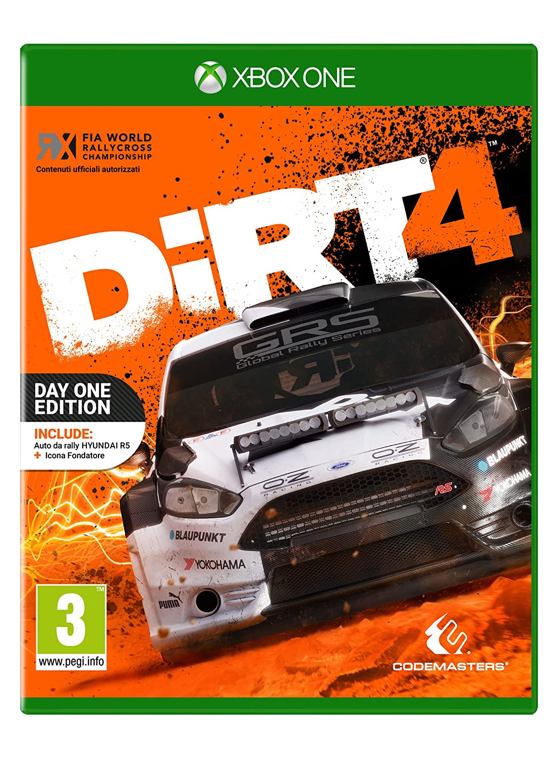 DiRT 4 - Xbox One [Importación italiana]: Amazon.es: Videojuegos