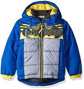 c21577143 Amazon.com  Warner Bros. Little Boys  Batman Puffer Coat  Clothing